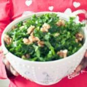 curly kale slaw beauty